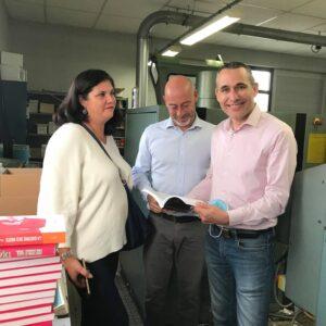 Bénédicte, David Goineau et Rodolphe Leroy
